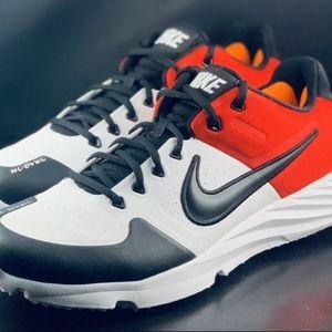 NWOT Custom Nike Alpha Huarache Turf Baseball Shoe